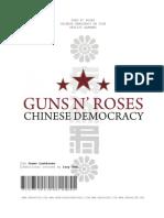 Guns N' Roses Chinese Democracy on Tour Setlist Almanac