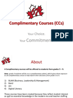 complimentary courses  ccs   1
