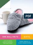 Step-Forward Knee-High Socks Project from One Ball Knits Gifts by Fatema, Khadija, and Hajera Habibur-Rahman