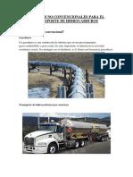 Metodos No Convencionales Para El Transporte de Hidrocarburos