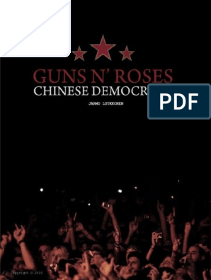 GN'R Chinese Democracy on Fuckin' Tour   Leisure