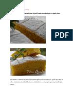Cake de Calabaza y Canela