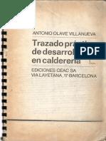 Trazado Practico de Desarrollos en Caldereria -Antonio Olave