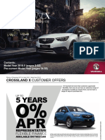 Crossland x Price Guide