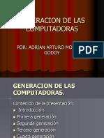 GENERACON DE LAS COMPUTADORAS
