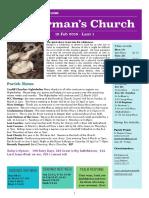 st germans newsletter - 18 feb 2018
