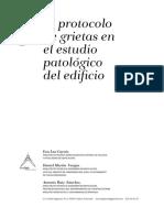 El Protocolo de Grietas en El Estudio Patologico Del Edificio