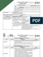 Plan de Clases Periodo IV. Etica 6o.- 2017