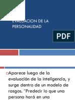 Evaluacion de La p