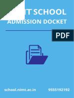 NIMT School Docket