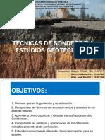 Tecnicas de Sondeos en Geotecnia