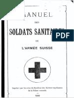 Manuel Des Soldats Sanitaires1899
