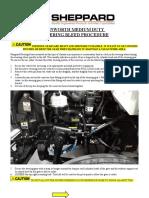 SHEPPARD Kenworth Medium Duty HD94 ALTERNATE Steering-Gear Bleed Procedure 2