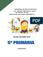 Caratula Plan Lector