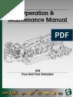 Manual Descortezador 604