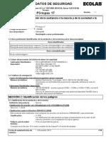 Msds Topax 17 - Ecolab