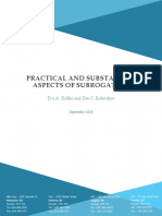 032 Practical and Substantive Aspects of Subrogation September 2015