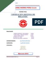 Manual de Operaciones Sistema de Relaves Diagrama- Shougang