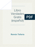 Libro Verdades Gratis - (español)