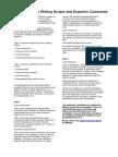 115004 General Training Writing Sample Scripts