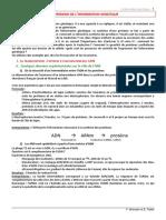 Expression de l Information Genetique (1)