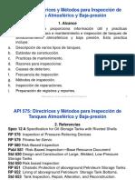 Curso API 575 (Español)