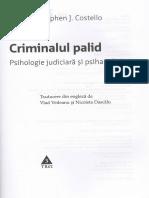 Criminalul Palid - Stephen J. Costello