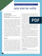 Artroplastia Total de Rodilla 20081