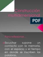 Lenguaje Sonoro - Construcción Multidimensional