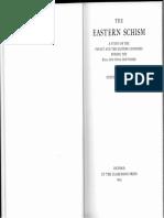 Runciman - The Eastern Schism