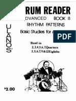 Drum Reader - Advanced Book 8