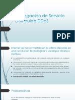 Denegación de Servicio Distribuido DDoS -Expo