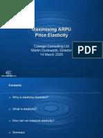 Copy of Maxim is Ing ARPU Price Elasticity MD Mar 05