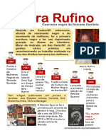 Alzira Rufino - Infográfico
