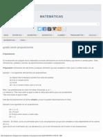 grado sexto proposiciones ~ MATEMÁTICAS