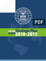 Export Import Bank Strategic Plan 2010 to 2015