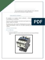 Informe - Instalacion de Contactores Electricos