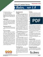SCS Rules v1.8 - September 2015