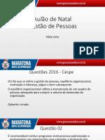 Katia Lima - Gestão de Pessoas