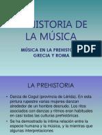 Historia de la Música en Grecia y Roma