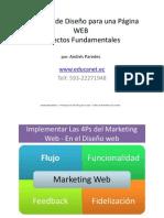 Principios de Diseño para la WEB