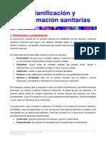 02. Planificación y Programación Sanitarias
