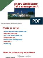 7.Pulmonary Embolism an Update Management