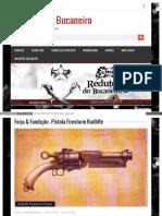 Forja e Fundição – Pistola Firestorm Radliffe