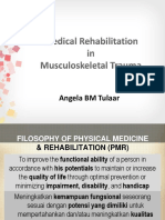 Medical Rehabilitation in Musculoskeletal Trauma - Prof. Dr. Dr. Angela BM Tulaar SpKFR (K)