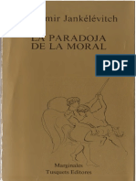 Vladimir Jankelevitch - La Paradoja de La Moral