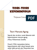TEORI TEORI KEPEMIMPINAN