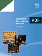 Occupational Diseases ILO