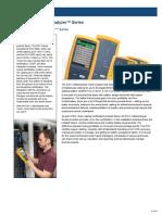 Datasheet DSX-8000 CableAnalyzerT Series