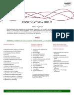 Convocatoria UnADM 2018-2 Lic TSU
